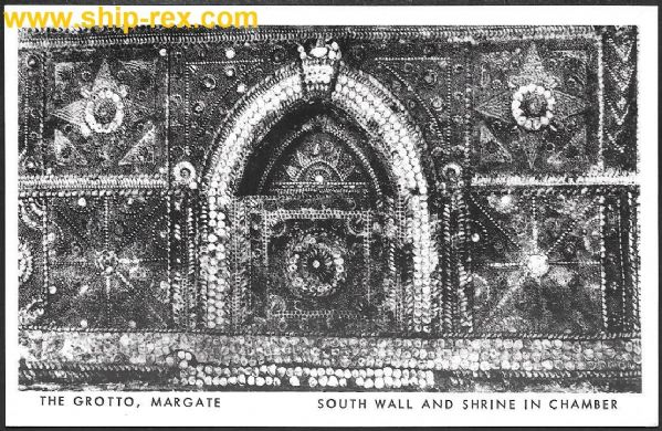 Margate, The Grotto, postcard (a)